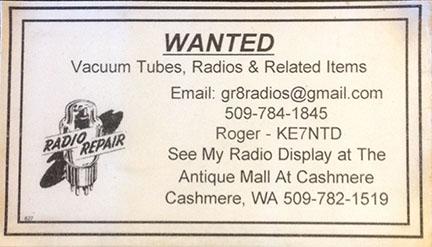 Wa state amateur radio club